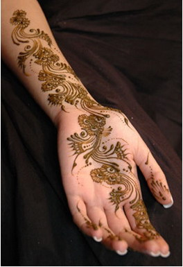 Simple Mehndi designs -8