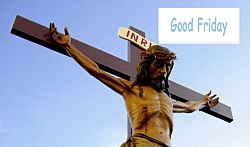 Good Friday Qoutes sms in hindi