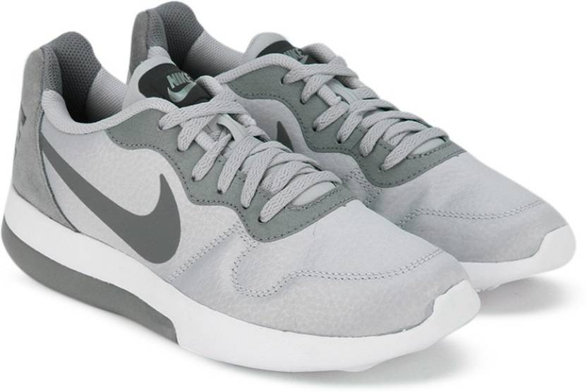 bc0d02a7f8c Nike WMNS NIKE MD RUNNER 2 LW Running Shoes (Grey) - Hello Dhani